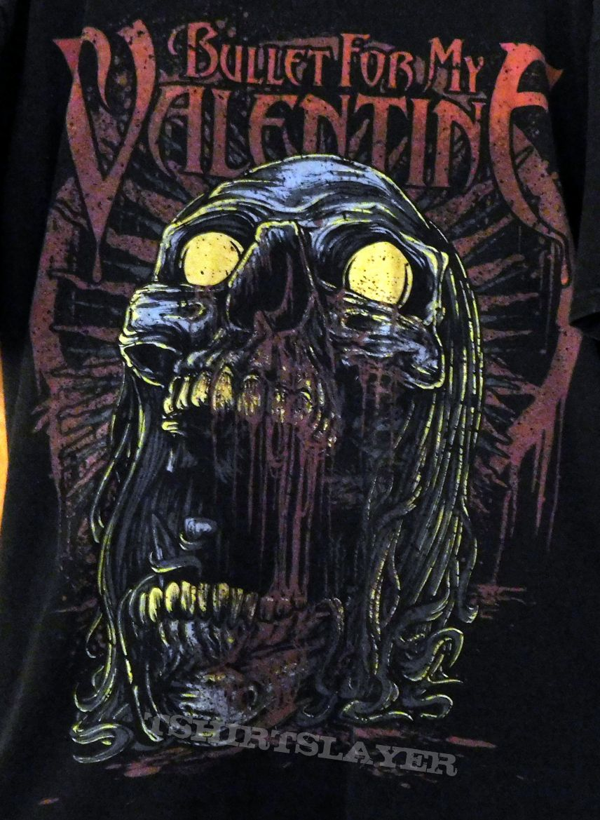 Bullet For My Valentine T Shirt L Tshirtslayer Tshirt And