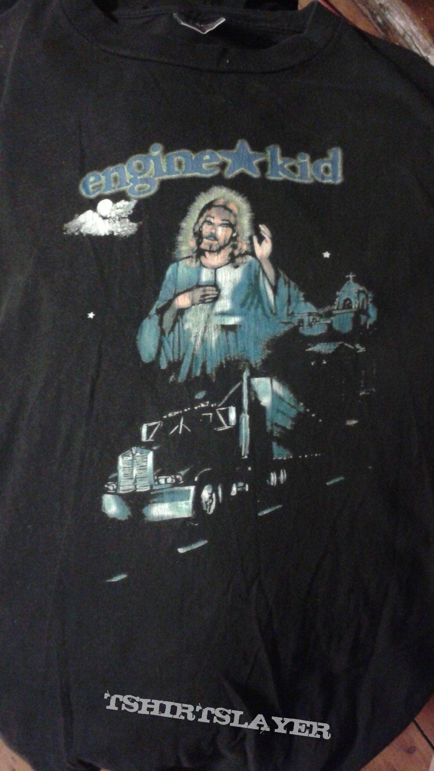 "Engine Kid ""jesus trucker"" t-shirt."