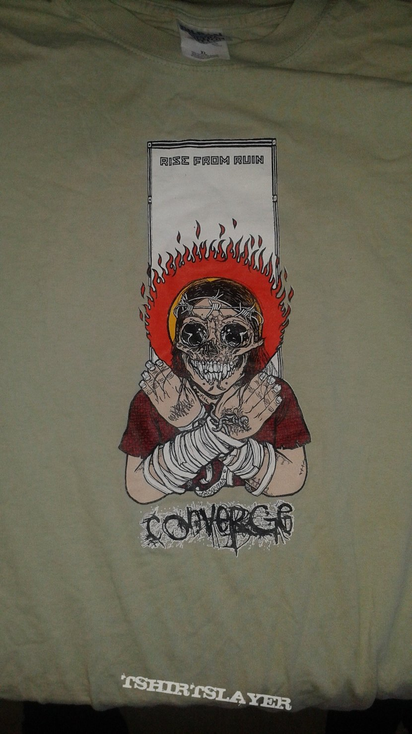 Converge Rise From Ruin t-shirt.
