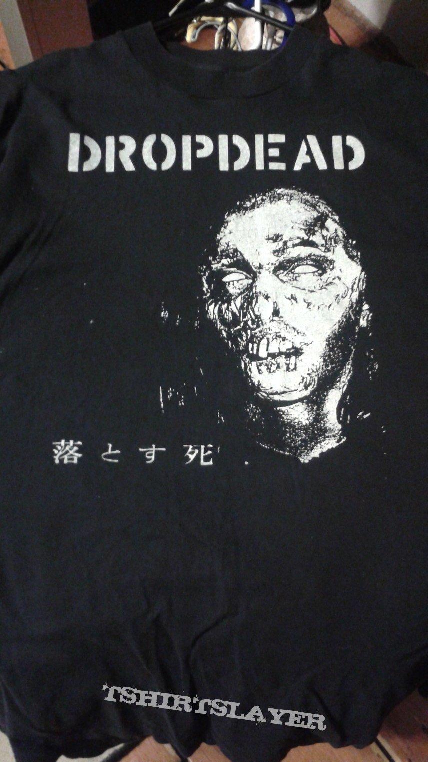 Dropdead 1996 Japanese tour t-shirt.