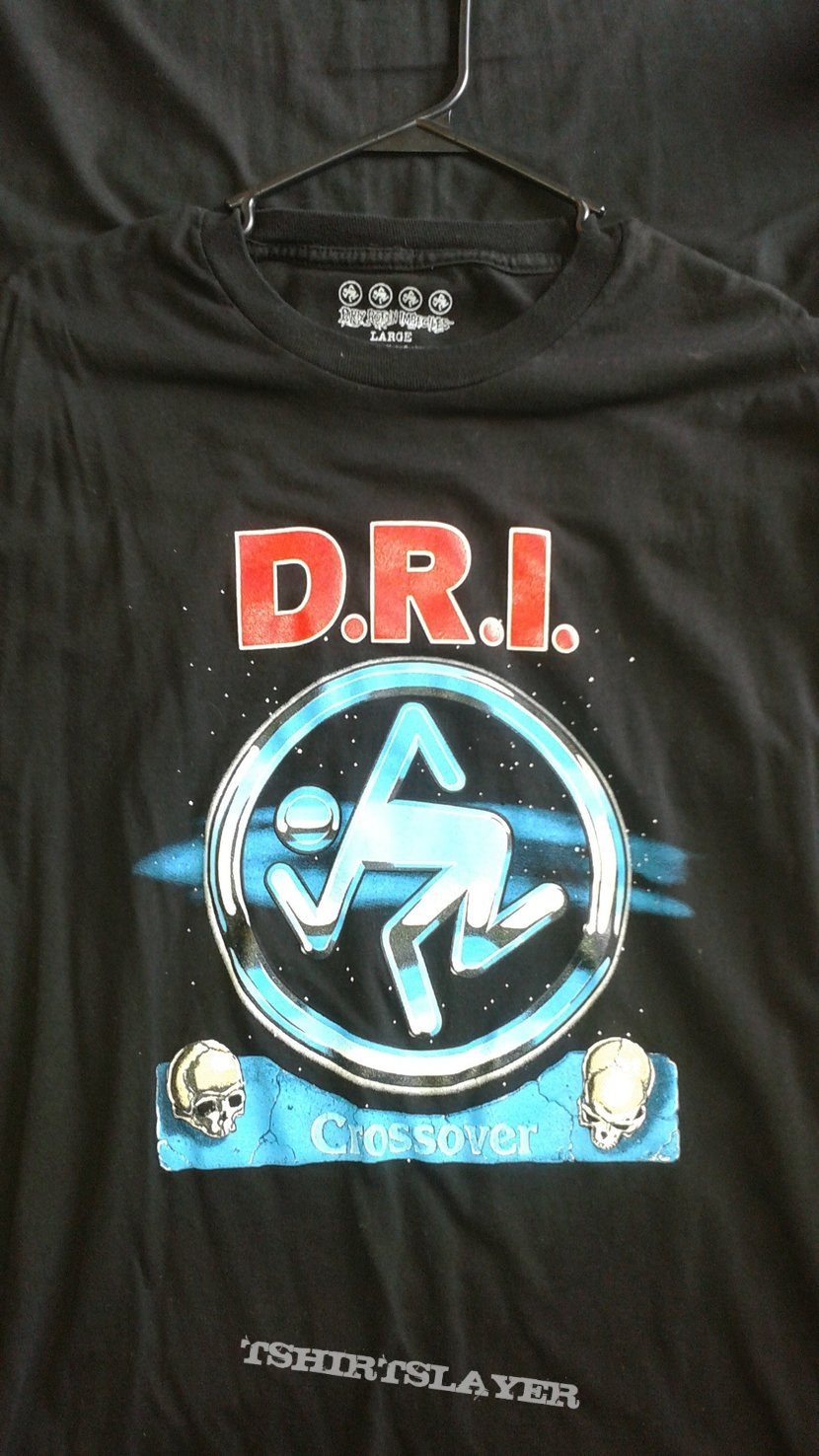D.R.I. Crossover T-shirt.