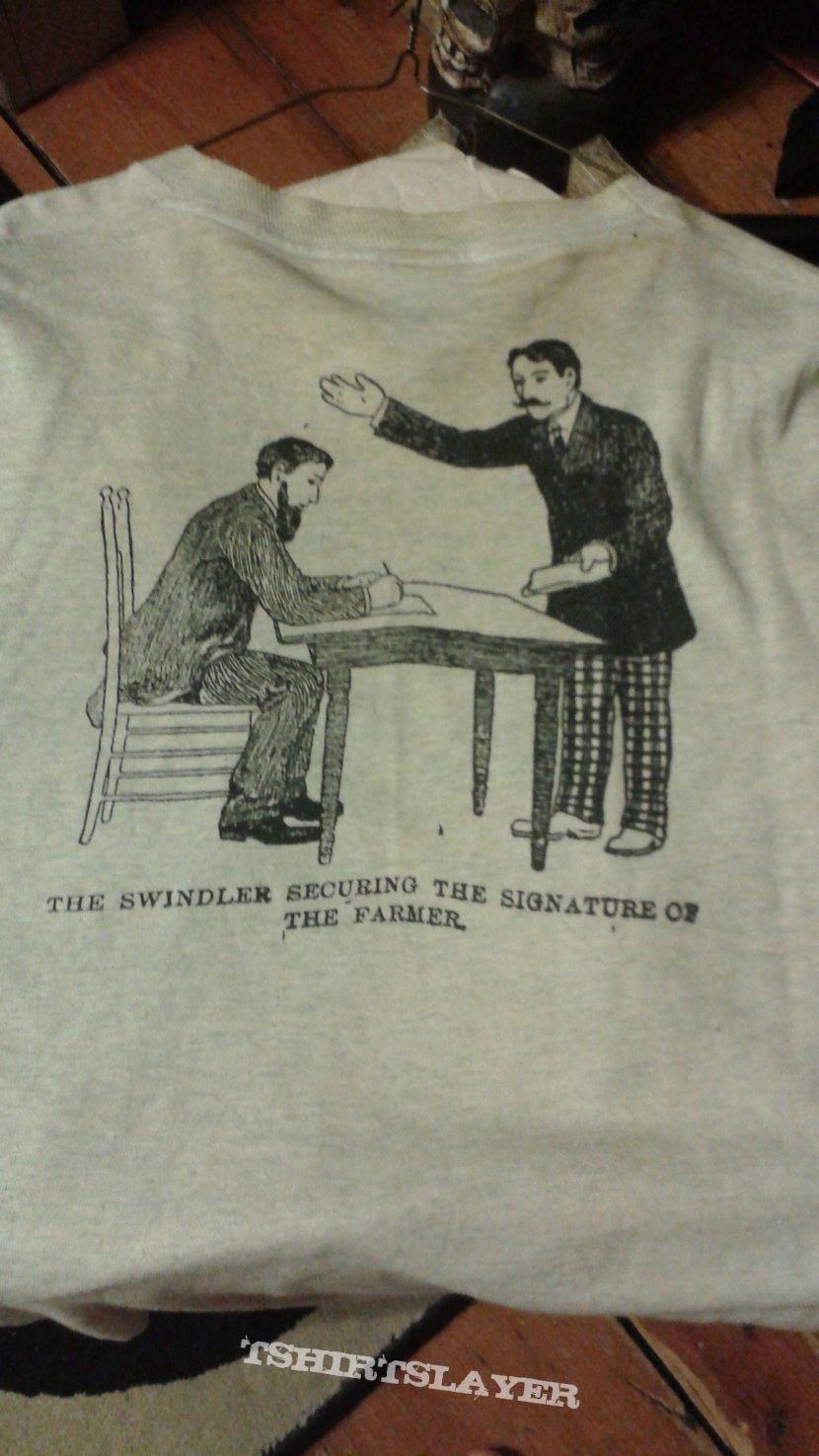 "Rorschach ""Jesus / Devil"" t-shirt."
