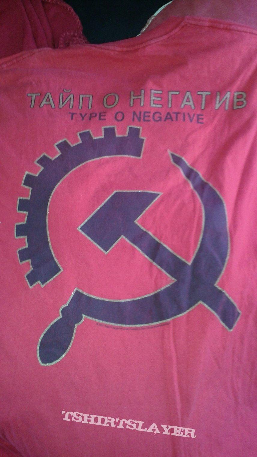 """Type O Negative """"Russian"""" Design T-shirt"""