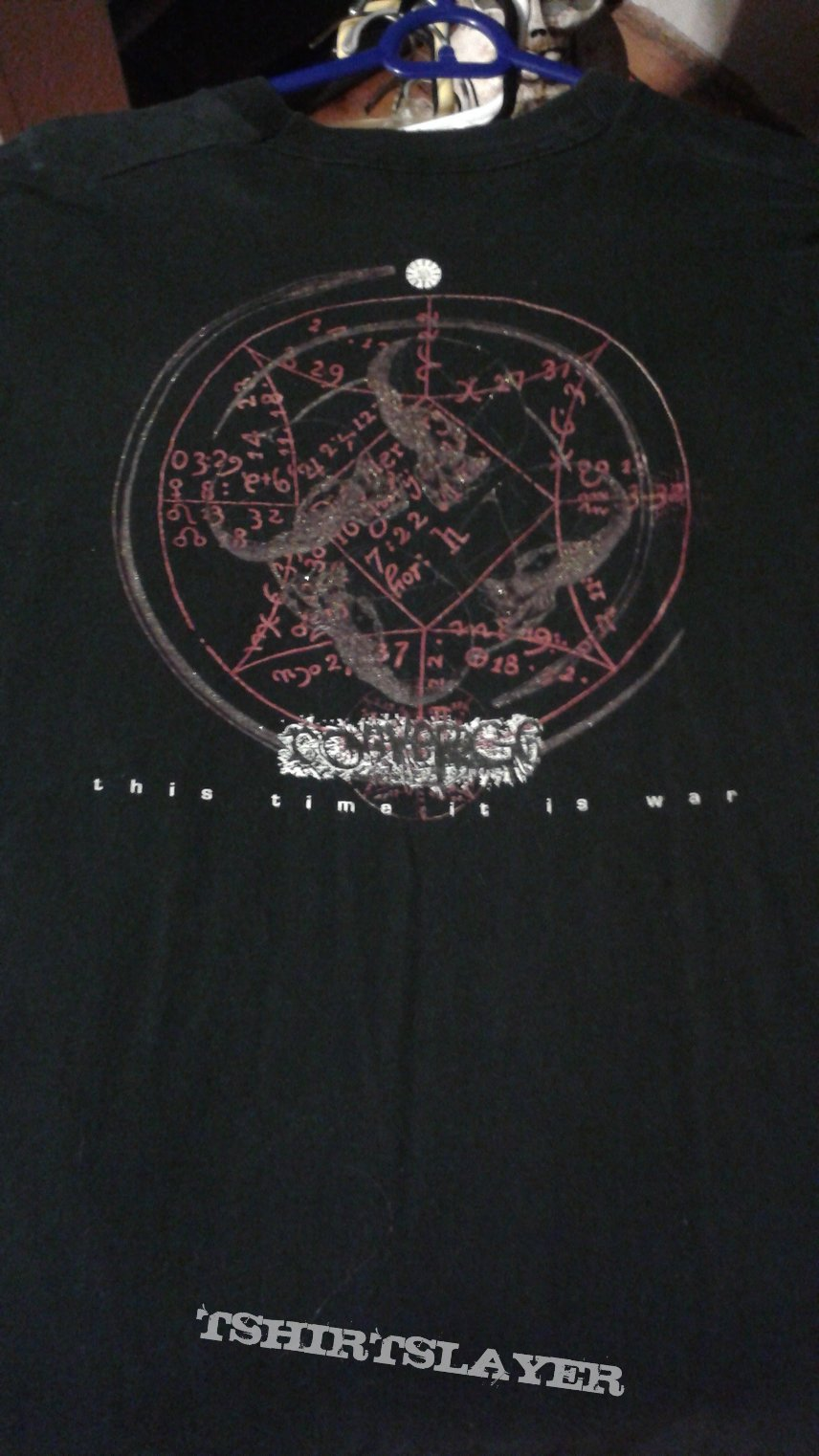 "Converge ""This Time It Is War"" long sleeve t-shirt."