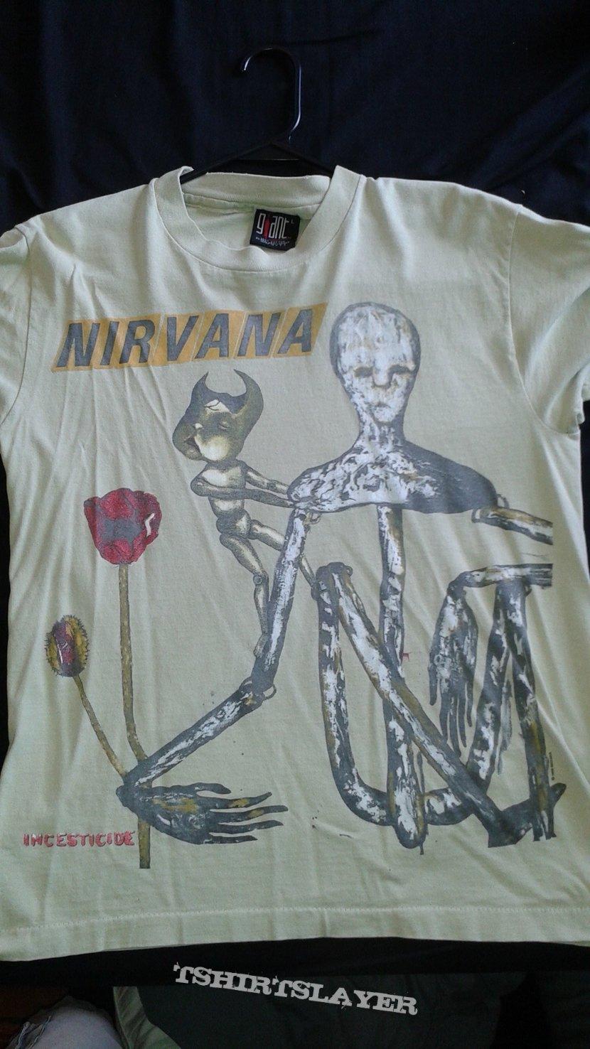 Nirvana Incesticide T-shirt