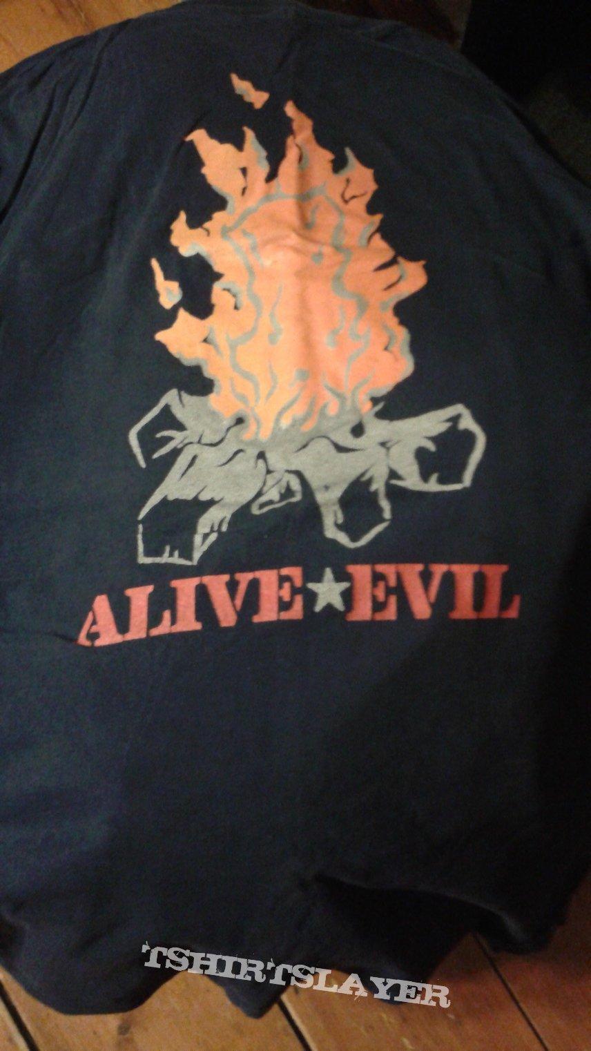"Engine Kid ""train"" Alive Evil tour shirt"