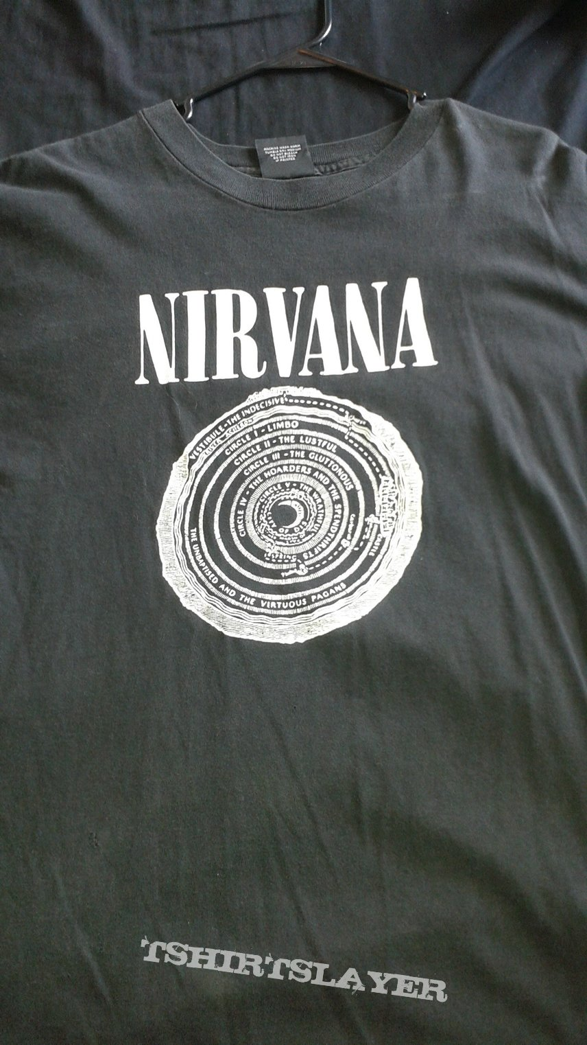 Nirvana Circles Of Hell T-shirt