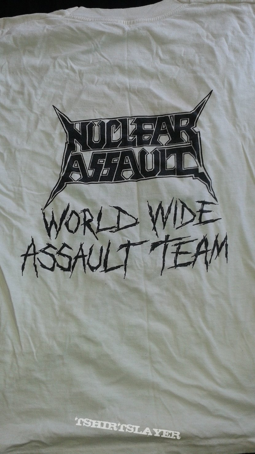 """Nuclear Assault """"Only The Strong Survive"""" T-shirt"""