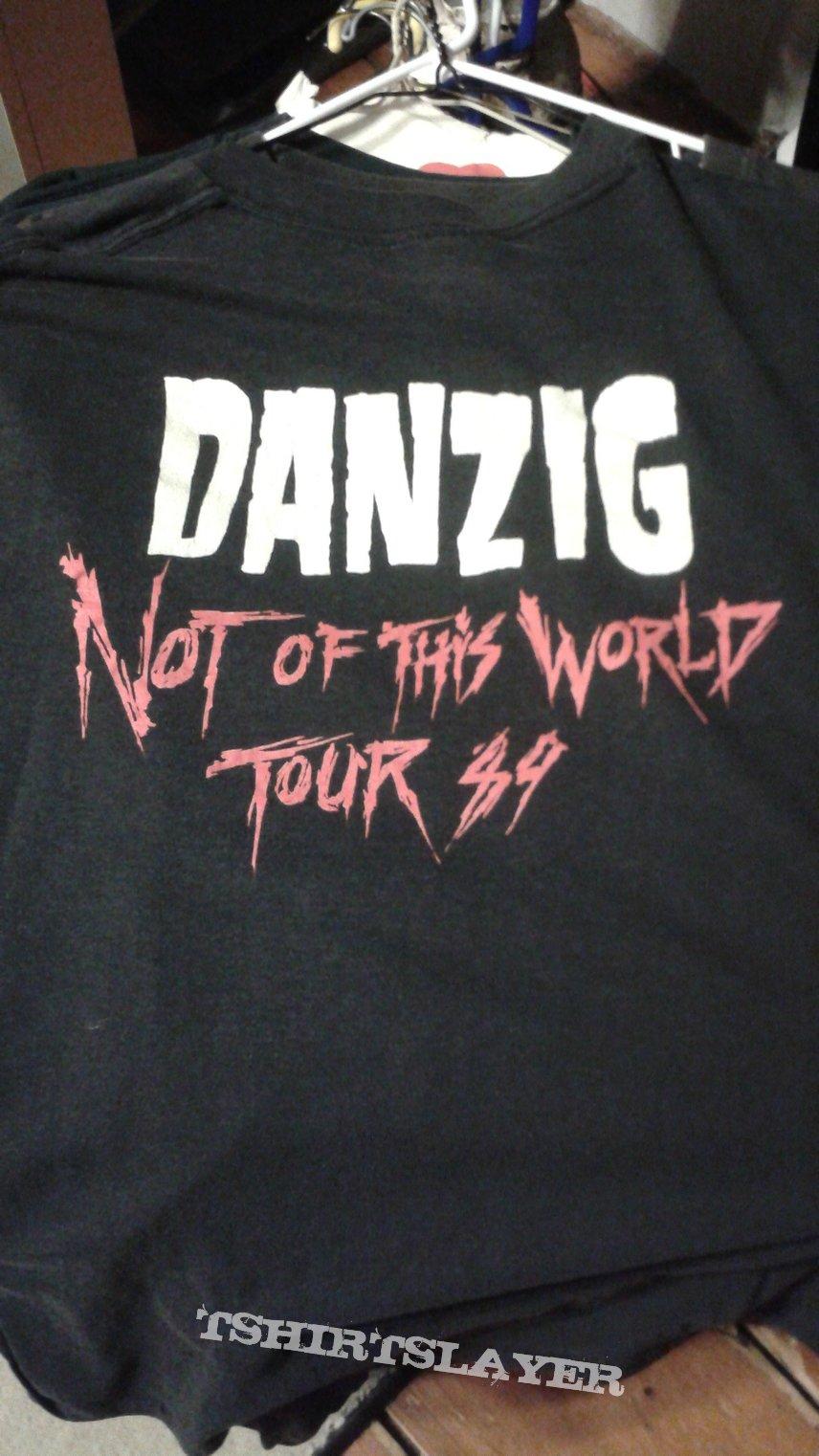 Danzig Not Of This World 1989 tour t-shirt.