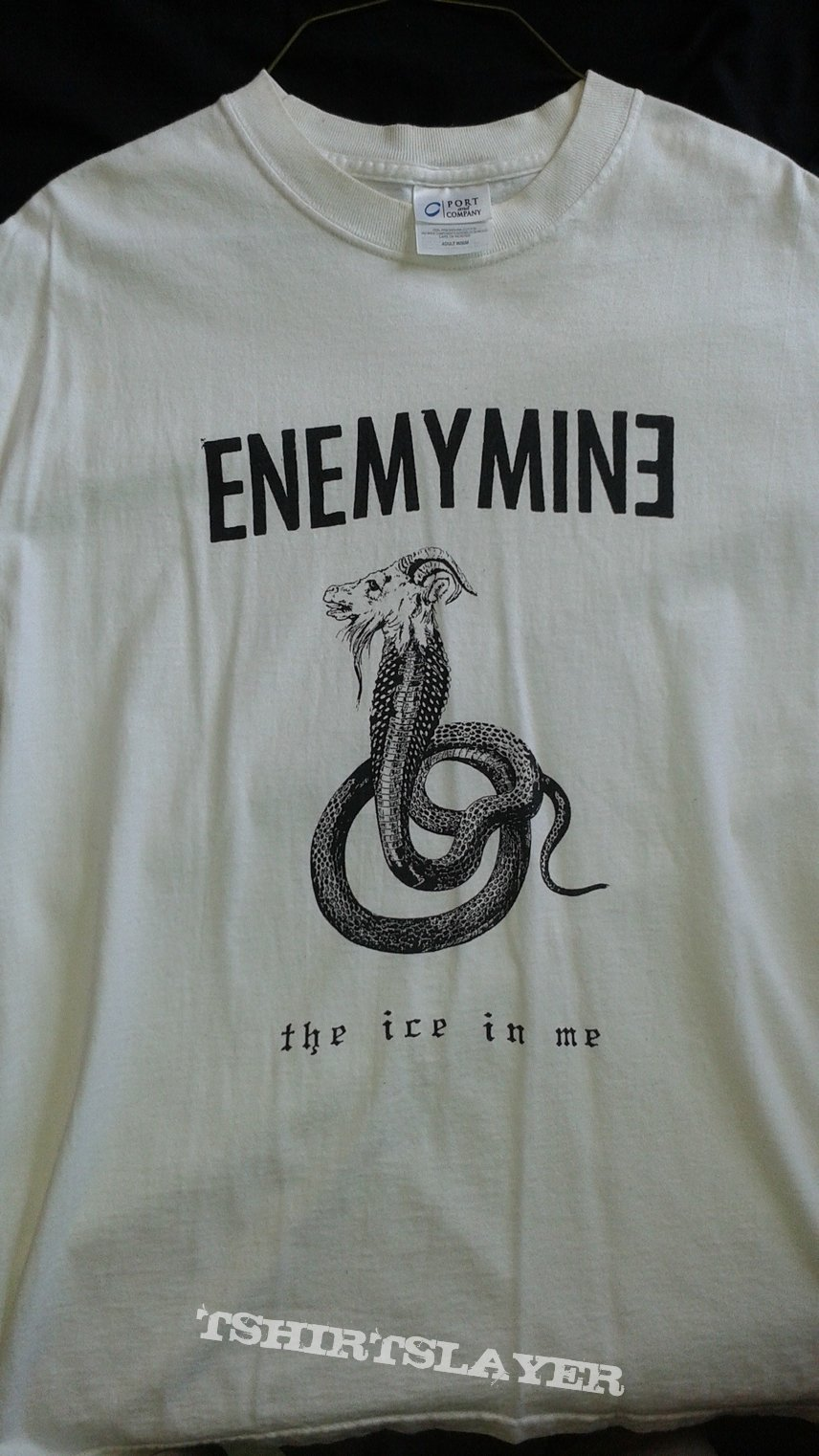 "Enemymine ""The Ice In Me"" t-shirt"