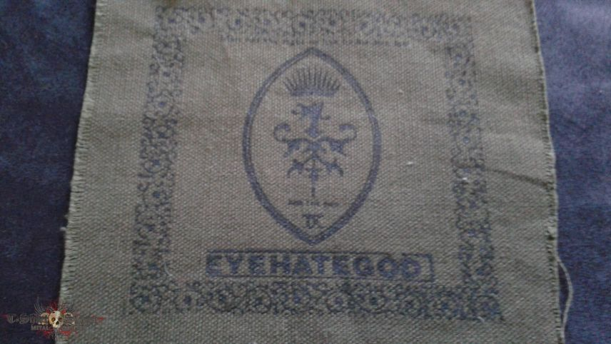 Eyehategod For The Sick patch.