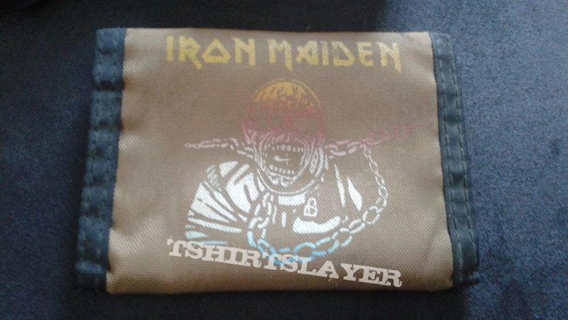 Iron Maiden Piece Of Mind velcro wallet.