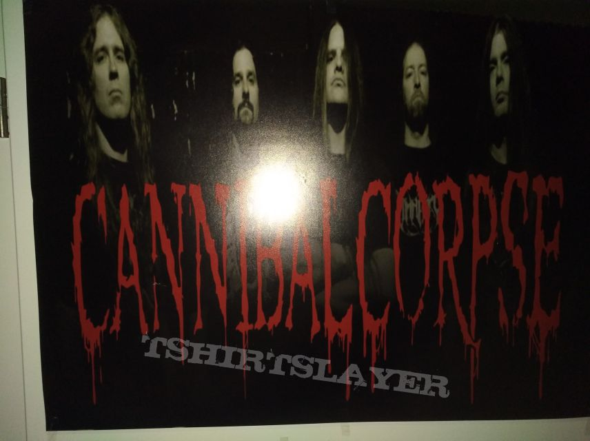 Cannibal Corpse Band Poster