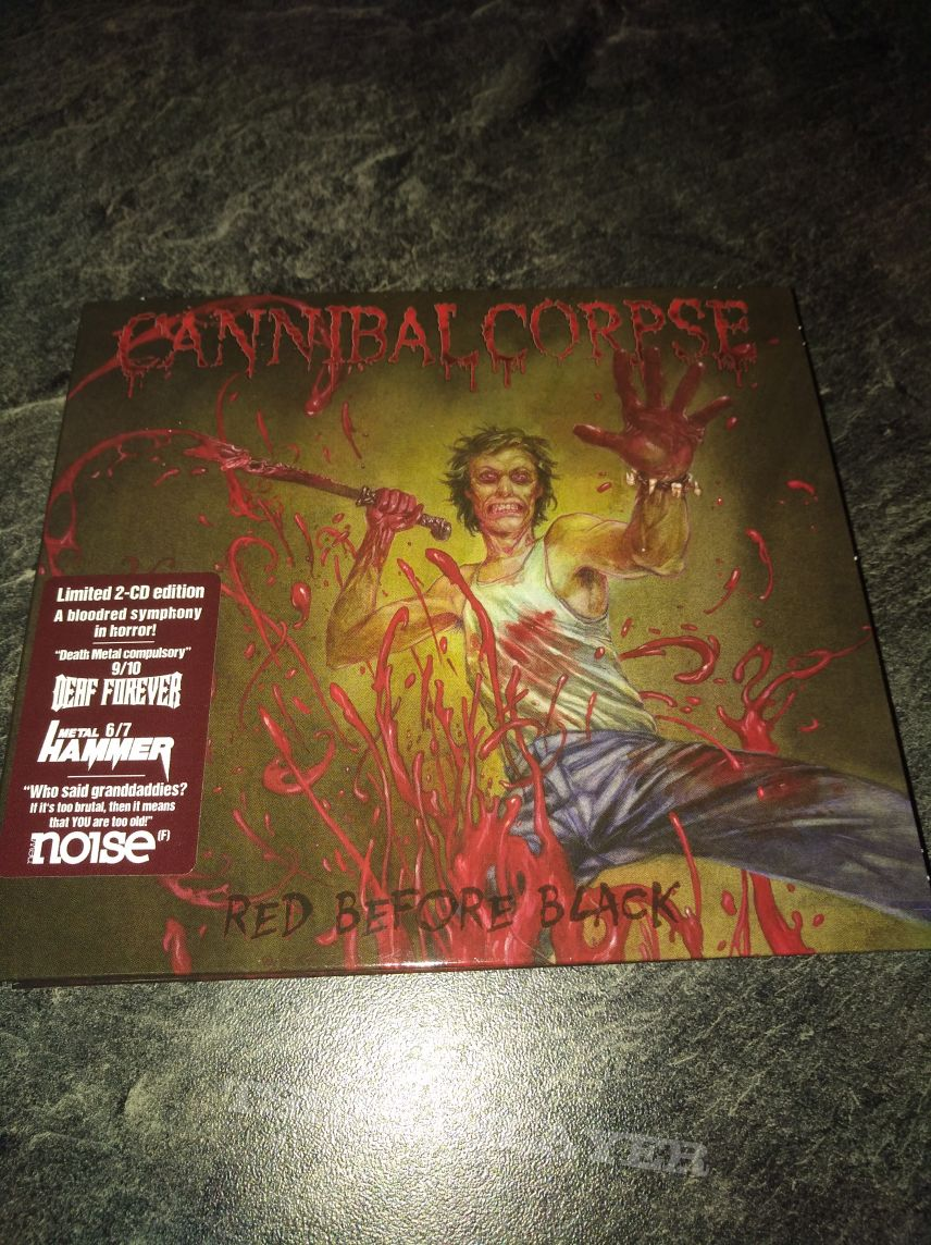 Cannibal Corpse Red before Black Limited 2 CDs Edition