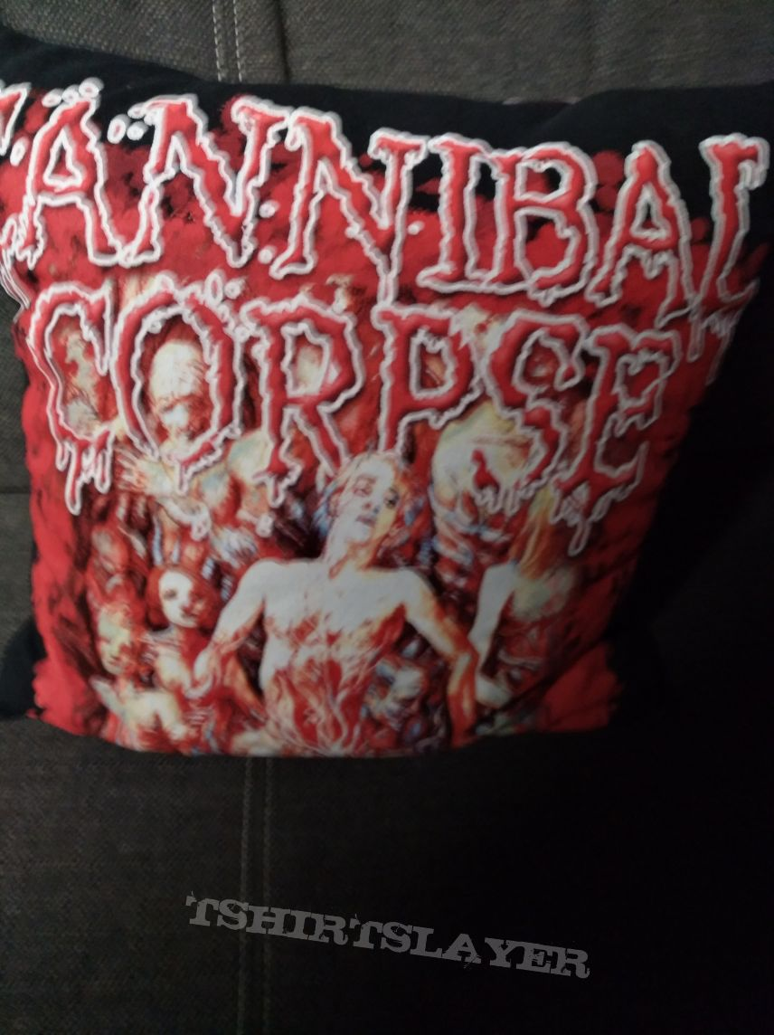 Cannibal Corpse  Bleeding Pillow