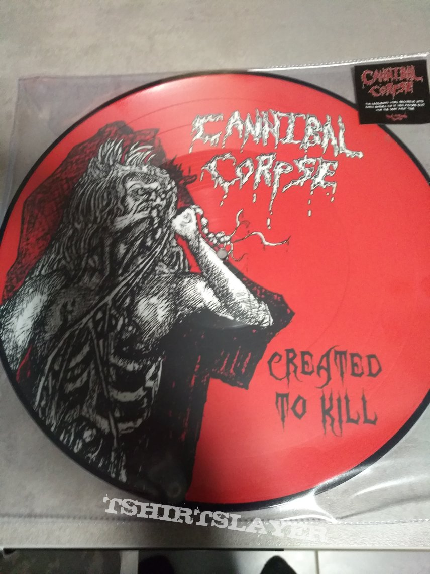Cannibal Corpse  Created to Kill Picture LP