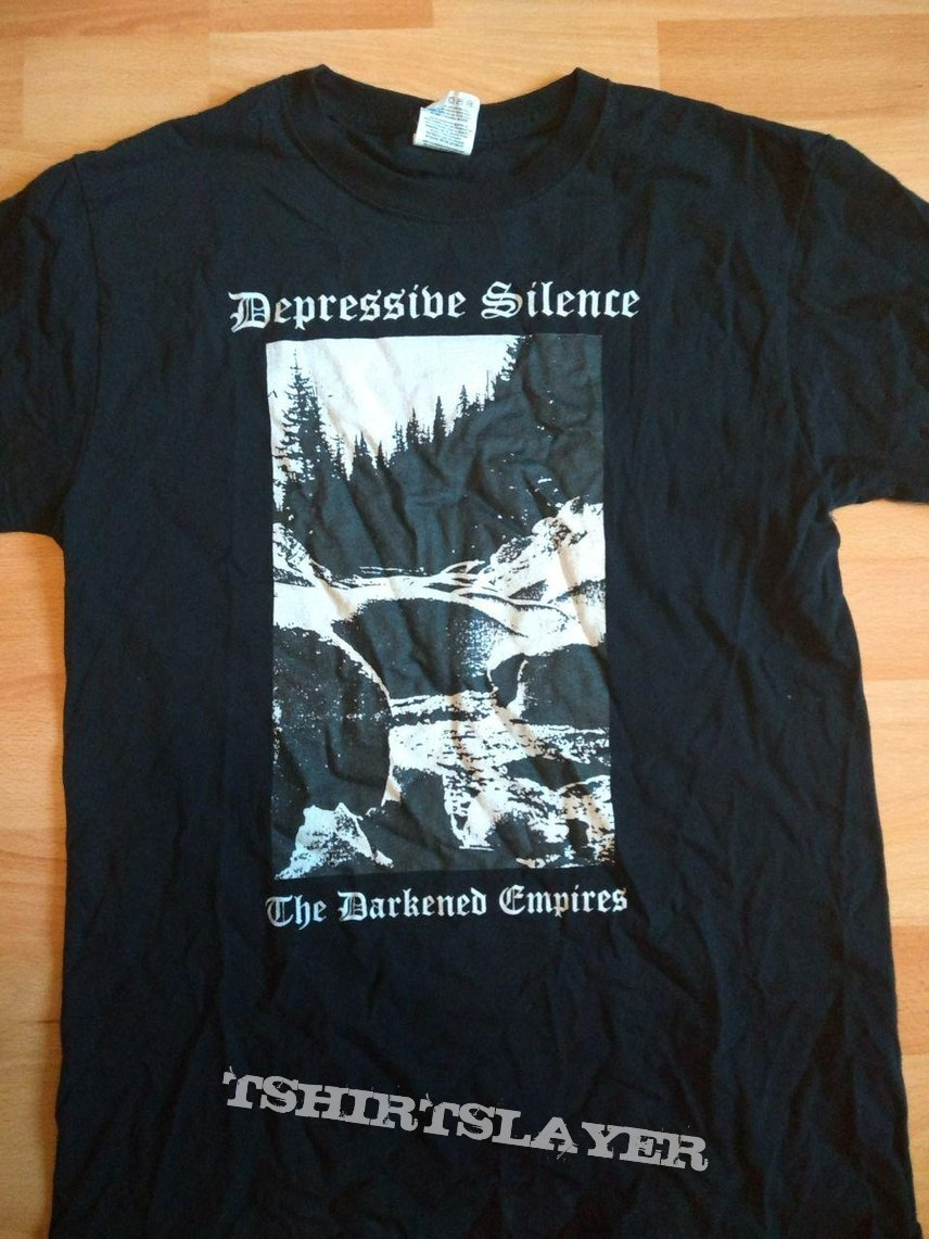 "depressive silence ""the darkened empires"" shirt"