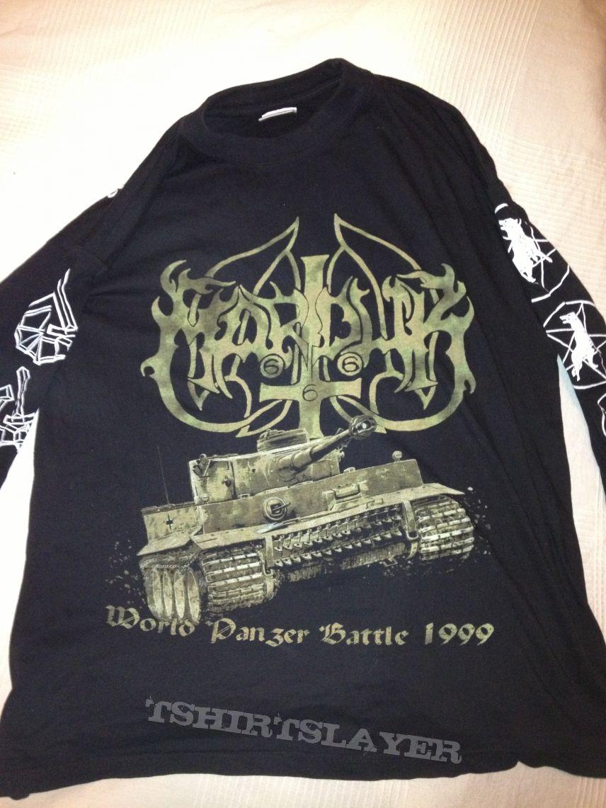 Marduk world panzer battle longsleeve