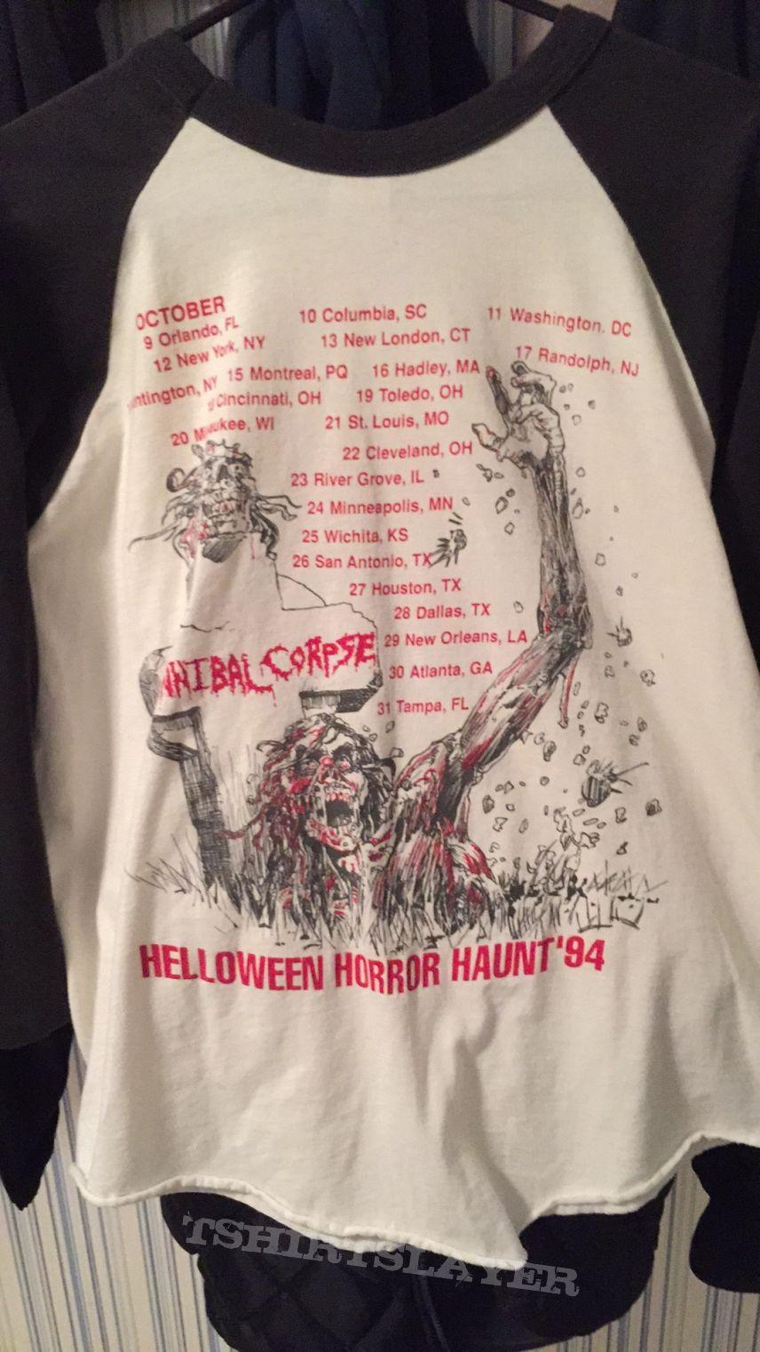 Cannibal Corpse Helloween Horror Haunt '94