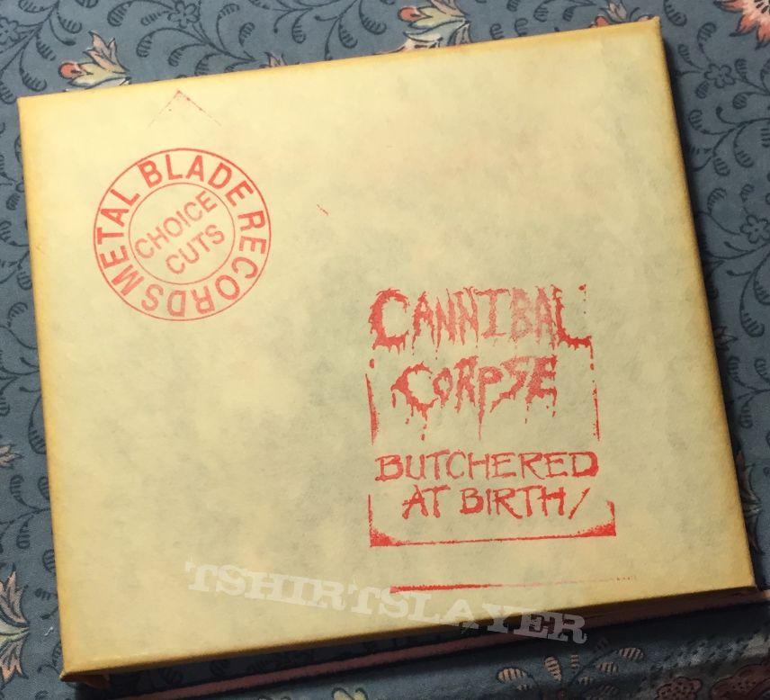 Butchered at Birth in original butcher paper cover