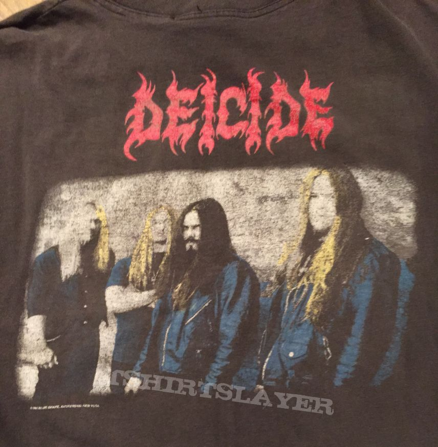Rare Deicide Once Upon the Cross Australian Tour Longsleeve, Benton autographed
