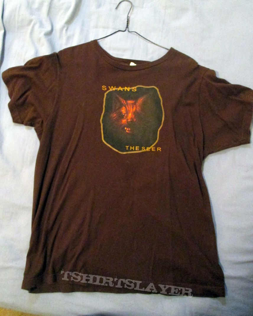 Swans Official Seer Shirt Tshirtslayer Tshirt And