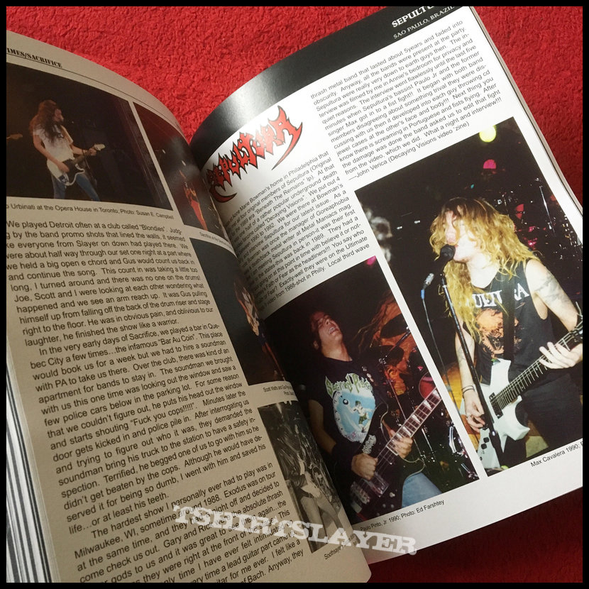 GLORIOUS TIMES: A Pictorial Of The Death Metal Scene – 1984-1991 book