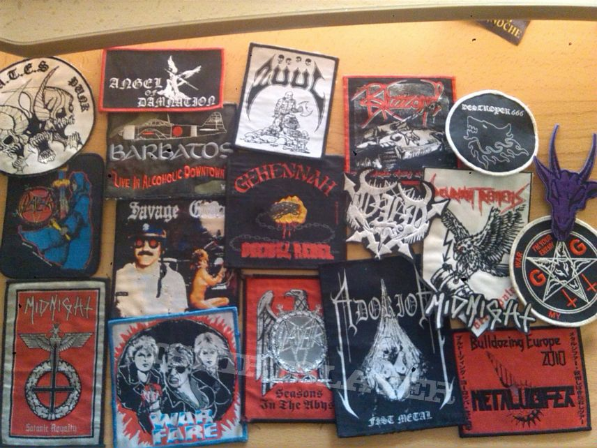 Some Patches for sale