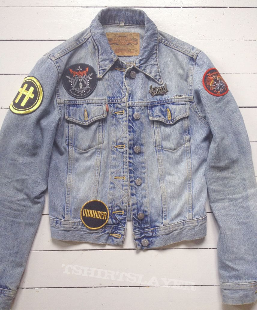 Starting out on my battle jacket