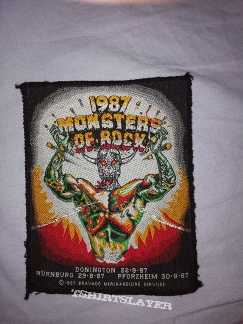 Monsters of Rock patch