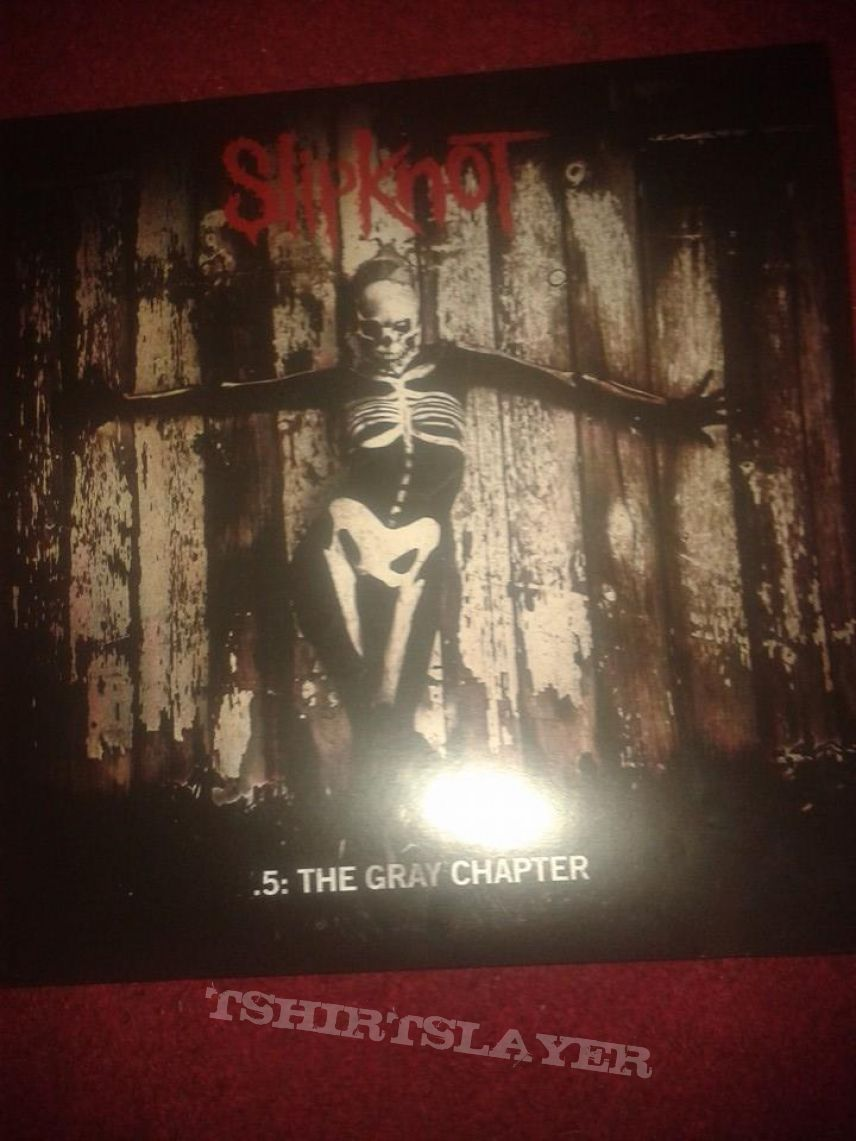.5: The Gray Chapter Vinyl (Limited edition green)
