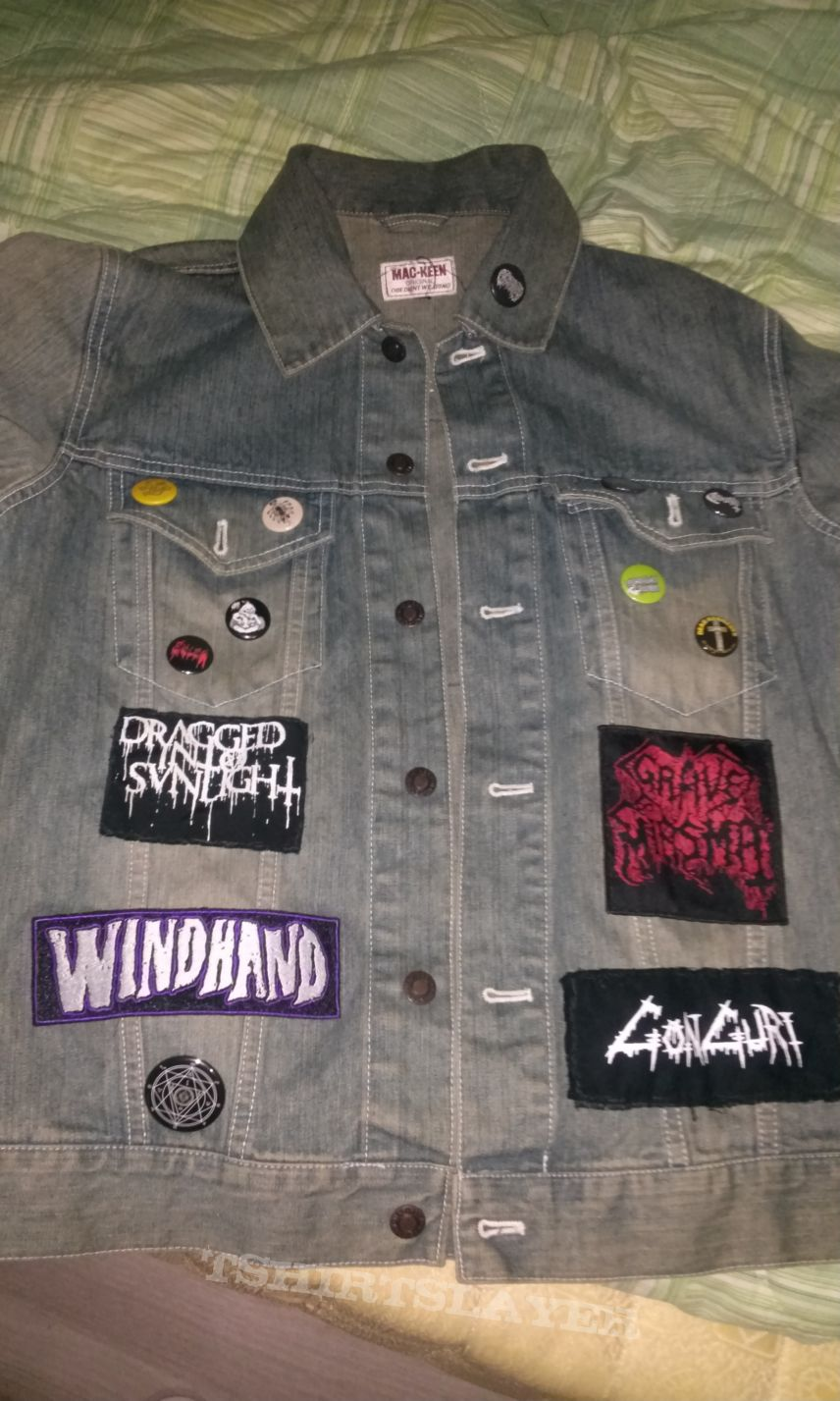 My jacket under construction