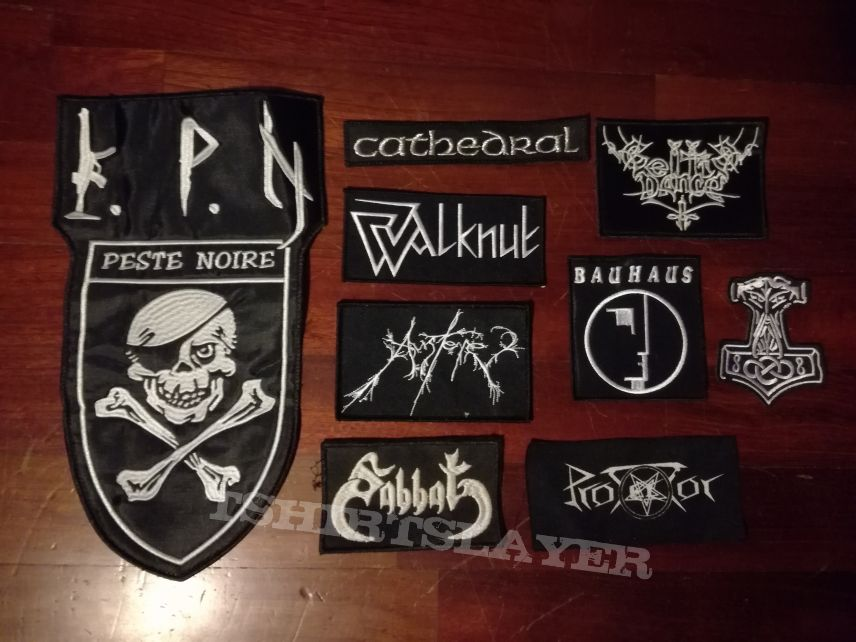 BM patches (Peste Noire, Walknut, Sabbat, Austere....)