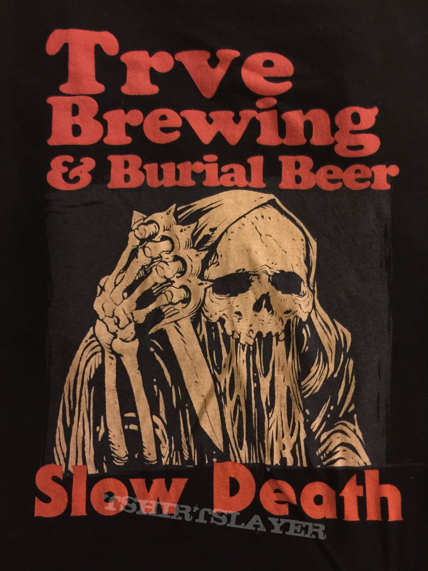 Slow Death (Uncle Acid) beer collaboration from TRVE and Burial