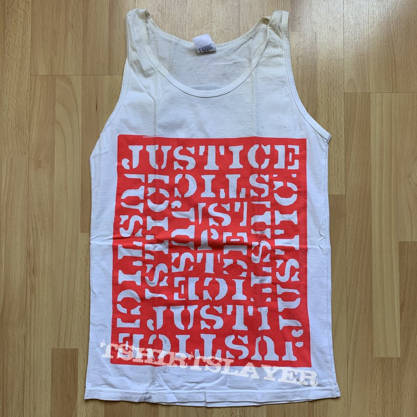Justice - logo 2006 tanktop