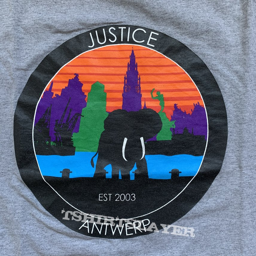Justice -Title Fight rip 2013 shirt