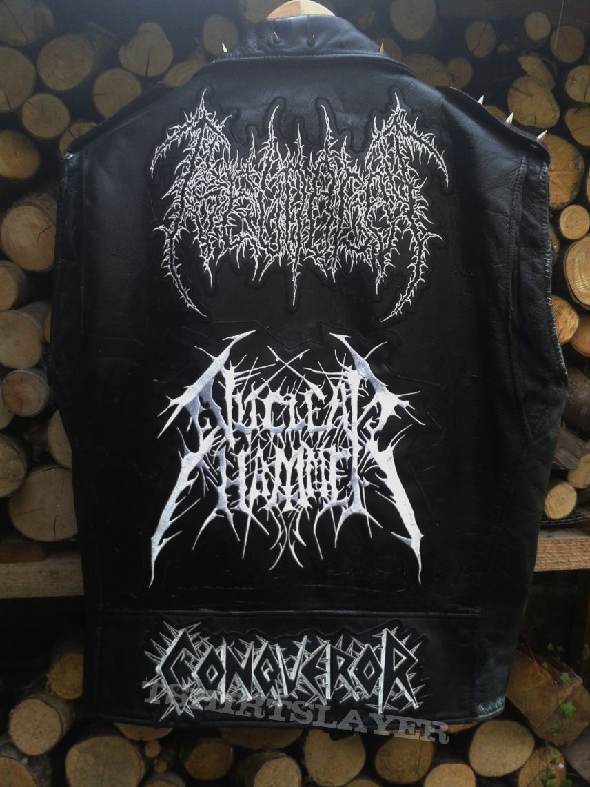 Black Death War Jacket