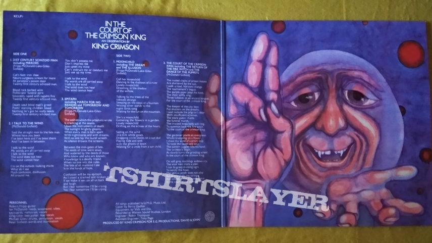King Crimson - In the Court of the Crimson King vinyl