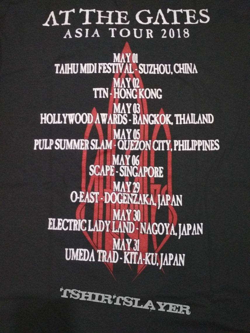 At The Gates - Asian Tour t-shirt