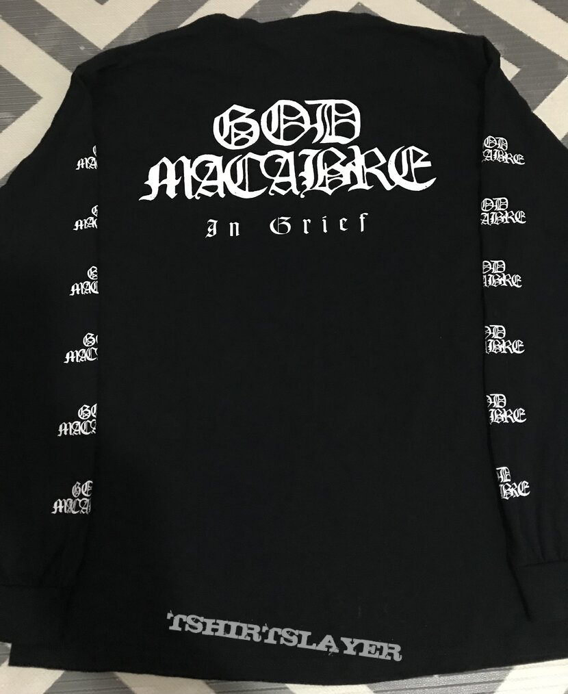 God Macabre - in grief long sleeve t-shirt