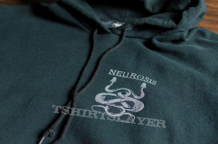 Neurosis - Through Silver In Blood hoodie (1997)