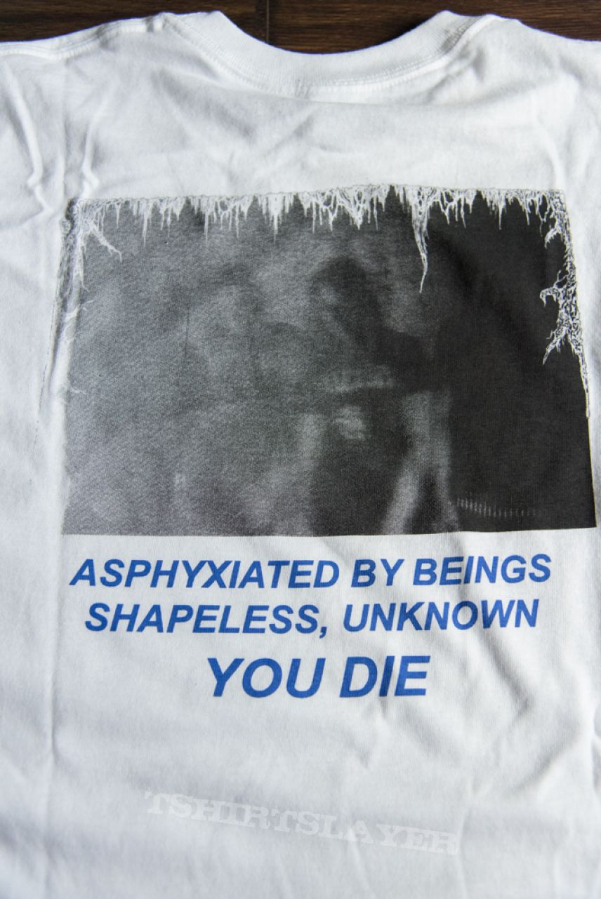 Spectral Voice - Asphyxiated white longsleeve (2018)