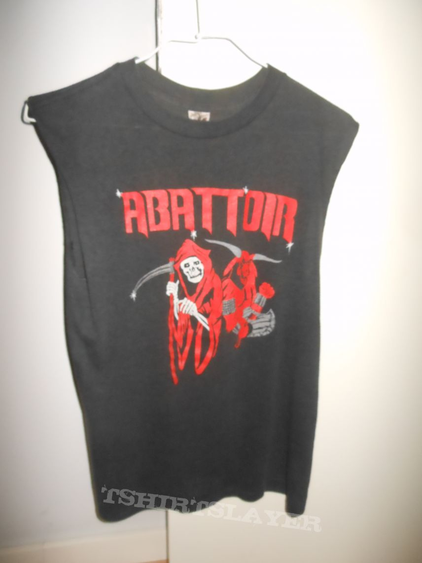 ABATTOIR (Vicious Attack Tour 1985 Shirt)