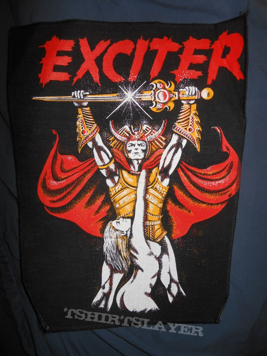 EXCITER (Long Live the Loud 1980´s Backpatch)