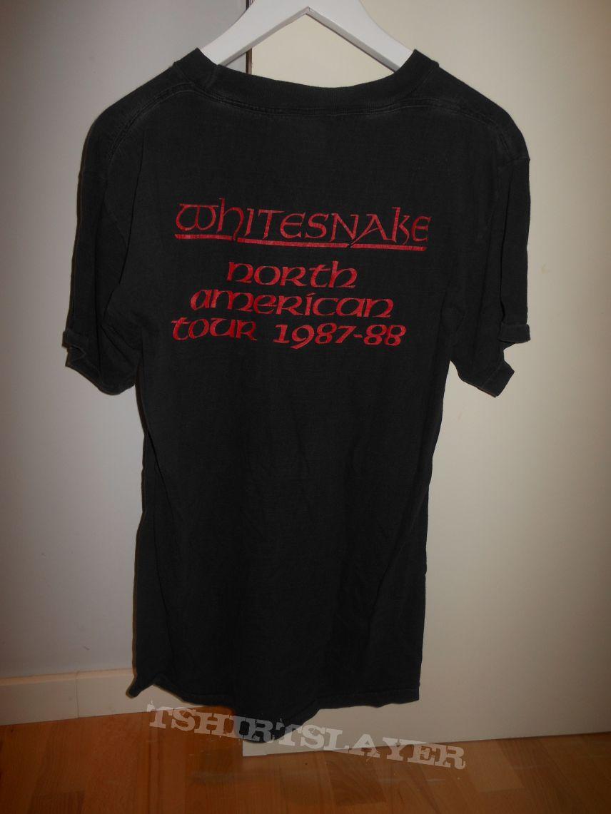 T shirt whitesnake - Whitesnake 1987 1988 Tour Shirt