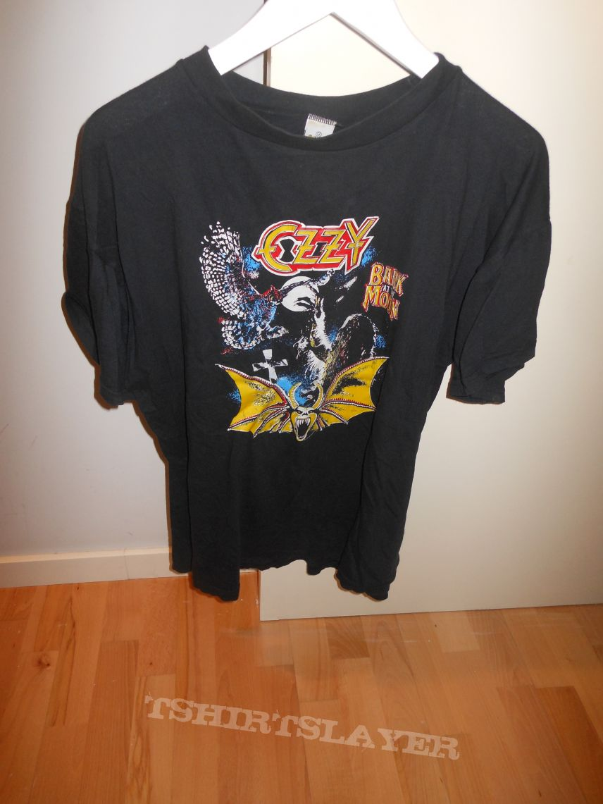 Ozzy (Bark at the Moon Sticker Shirt from the 80´s)