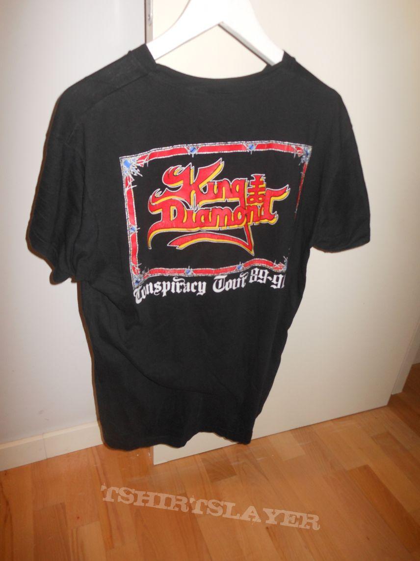 209f78206b3 King Diamond (Conspiracy Tour Shirt 1989-1990)