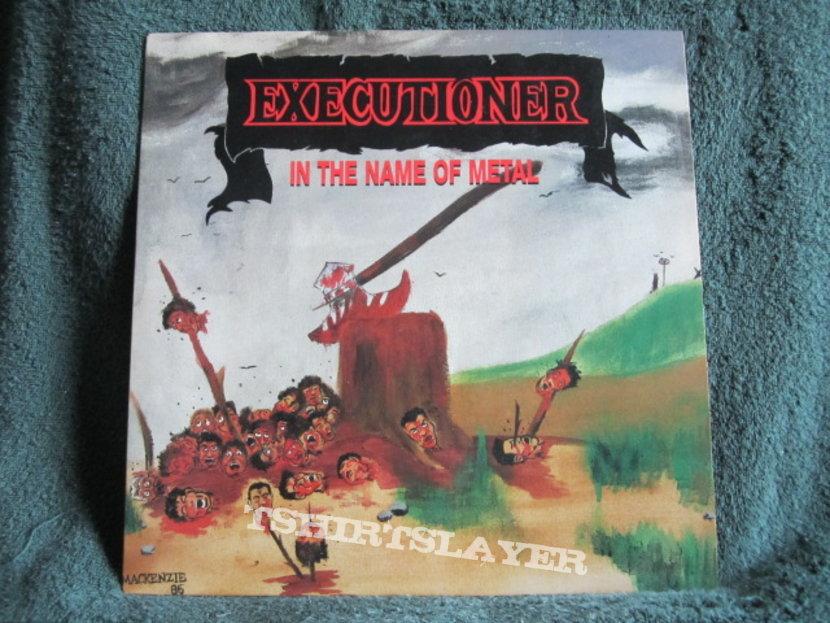 In The Name Of Metal Vinyl