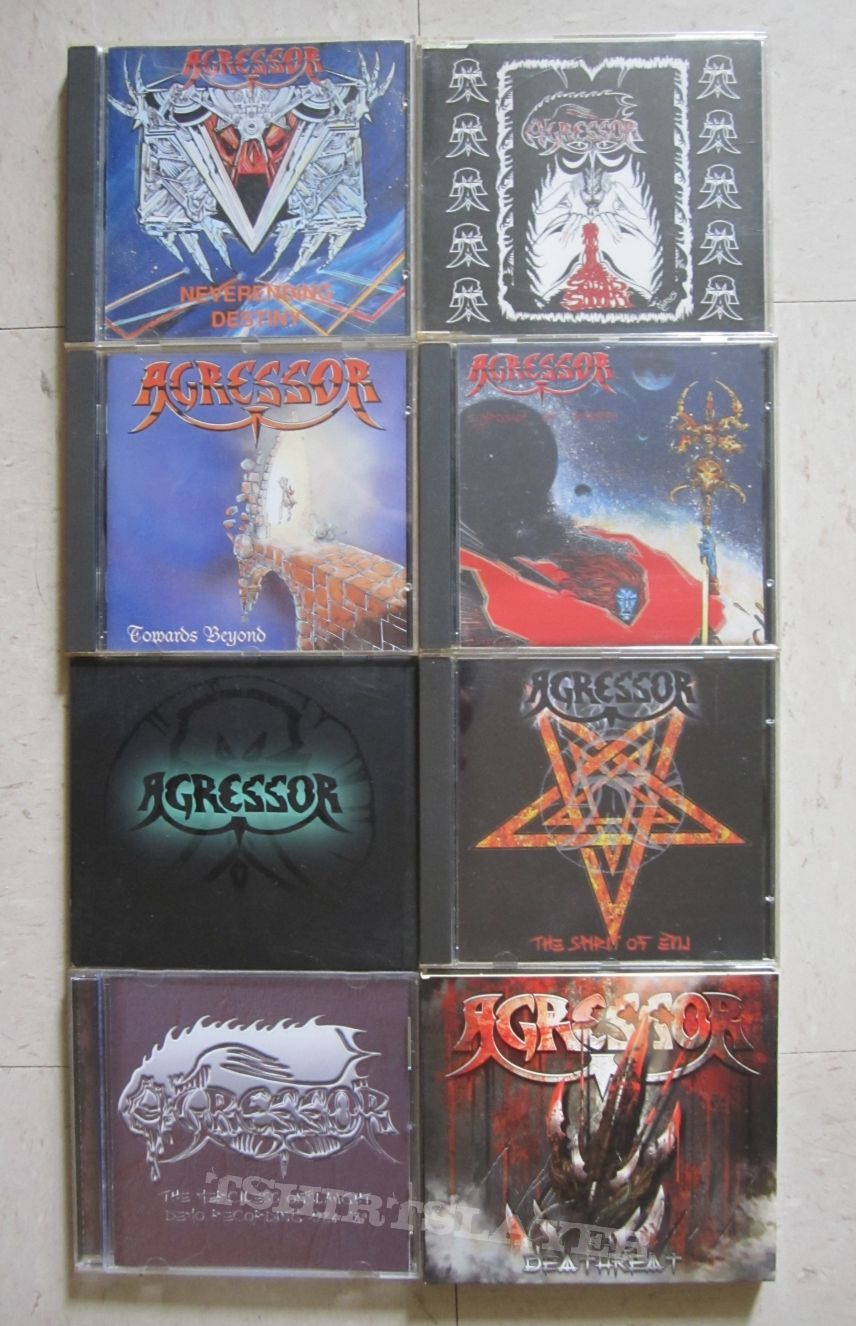 Agressor (CD collection)