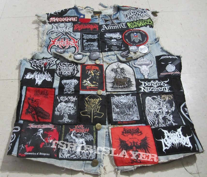Extreme Chilean Metal Vest